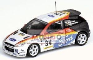 【送料無料】模型車 モデルカー スポーツカーフォードフォーカスクレーメルモデルford focus wrc kremer catalunya 2002 430028934 143 model