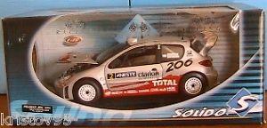 車・バイク, レーシングカー  peugeot 206 wrc 2 rally finland 2002 gronholm rautiainen solido racing 118