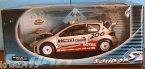 【送料無料】模型車 モデルカー スポーツカープジョー#フィンランドラリーグロンホルムレーシングpeugeot 206 wrc 2 rally finland 2002 gronholm rautiainen solido racing 118
