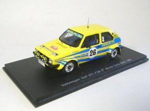 車・バイク, レーシングカー  vw golf gti 265th rally monte carlo 1980