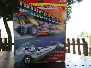 車・バイク, レーシングカー  majorette serie 2700 of 1992 dragster hot engine white box never open