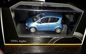 【送料無料】模型車 モデルカー スポーツカーオペルメタリックopel agila b 2 generation 200714 maroccoblau metallic 143 schuco