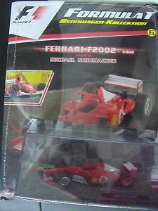 車・バイク, レーシングカー  f 1 racing car collection 143 6 ferrari f 2002 michael schumacher