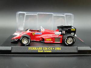 【送料無料】模型車 モデルカー スポーツカーフェラーリフォーミュラモデルカーモデルferrari formula 1 one f1 143 126 c4 car model car model