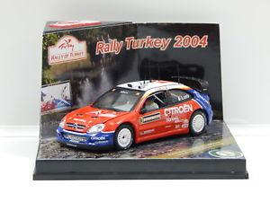 【送料無料】模型車 モデルカー スポーツカーシトロエンクサララリーオブトルコローブエレナ143 citroen xsara wrc 2004 rally of turkey sloebdelena 3 vitesse 43209