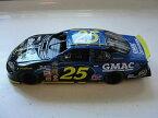 【送料無料】模型車 モデルカー スポーツカーチームナスカーレースカー2004 team caliber, gmac number 25 nascar racing car, collectible, advertising