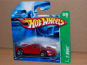 【送料無料】模型車 モデルカー スポーツカーエンツォフェラーリレッドシートハントホットホイールモデルロッドenzo ferrari red seat thunt hot wheels hw model car hotweels muscle car rod