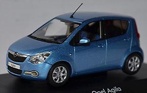 【送料無料】模型車 モデルカー スポーツカーオペル≒アズールアズールopel agila b 2 generacin 200714 azul azul metalizado 143 schuco