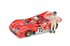 【送料無料】模型車 モデルカー スポーツカーフェラーリ312 pb 1000kmモンツァ19712piloti15 143 2003 brummferrari 312 pb 1000km monza 1971 2 piloti 15 143 2003 brumm