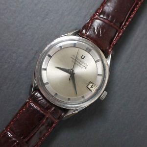 腕時計, 男女兼用腕時計 universal genve polerouter date caliber 2182 microrotor