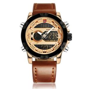 【送料無料】ファッションカジュアルスポーツウォッチnaviforce uomo fashion casual display sport militare orologio da polso di h0l6