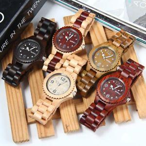 腕時計, 男女兼用腕時計 bewell zsw038a sandalo di legno da uomo donna quarzo orologio con luminoso mani