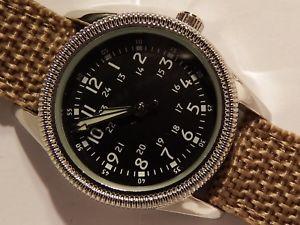 腕時計, 男女兼用腕時計 nuovo eaglemoss 1950s stati uniti aviatore 30 mm case orologio nuovo batt
