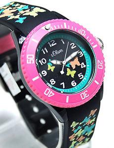 腕時計, 男女兼用腕時計 s oliver bambini orologio con bracciale in silicone so3275pq