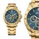 【送料無料】ヒューゴボスクロックゴールドステンレススチールクロノグラフhugo boss orologio uomo 1513340 ikon oro acciaio inox cronografo orologio da polso