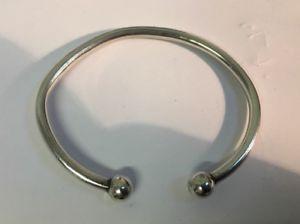 男女兼用アクセサリー, ブレスレット  menswomens silver bracelet w169g hallmarked length 85 strong bracelet