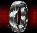 【送料無料】ブレスレットタングステンタングステンリングダブルライン* nuovo * 6mm tungsteno anello tungsteno * double line 6 *