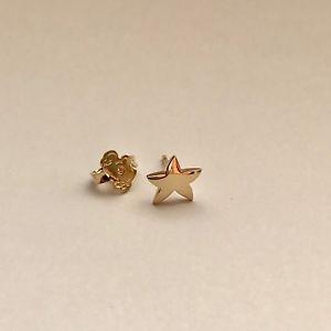 【送料無料】ブレスレット ドードーイエローゴールドイヤリングdodo pomellato orecchino singolo a lobo con stella, in oro giallo, nuovo