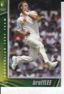 【送料無料】スポーツ メモリアル カード オーストラリアクリケットテストプレーヤー#ブレットリー