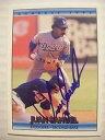 【送料無料】スポーツ メモリアル カード フアンサミュエルドジャースベースボールカードサインフィリーズjuan samuel signed dodgers 1992 donruss baseball card auto autographed phillies