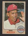 【送料無料】スポーツ メモリアル カード #1968 topps baseball 122 gene mauch exmt inv a1544