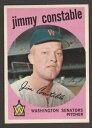 【送料無料】スポーツ メモリアル カード #ジミーコンスタブル1959 topps baseball 451 jimmy constable inv j1615