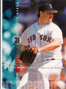 【送料無料】スポーツ メモリアル カード ボストンレッドソックスチームセットロジャークレメンスマイクグリーンウェル1995 fleer boston red sox true team set 30 roger clemens mike greenwell