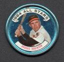 【送料無料】スポーツ メモリアル カード brooks robinsonコウライウグイスall star1964topps coins 125brooks robinson orioles all star 1964 topps coins 125
