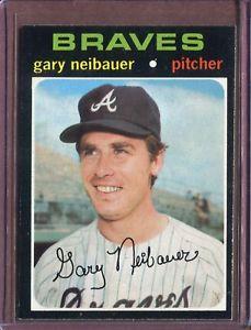 【送料無料】スポーツ メモリアル カード ゲイリー1971 topps 668 gary neibauer nm d152398