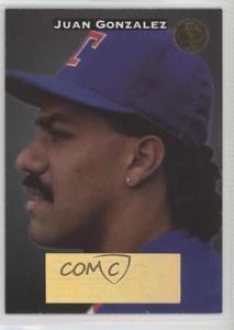 【送料無料】スポーツ メモリアル カード リーフゲーマー#フアンゴンザレステキサスレンジャーズカード1994 leaf gamers 3 juan gonzalez texas rangers baseball card画像