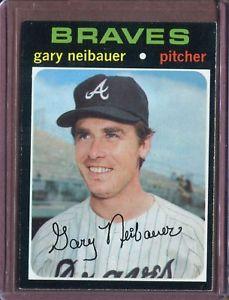 【送料無料】スポーツ メモリアル カード ゲイリー1971 topps 668 gary neibauer nm d152404