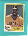 【送料無料】スポーツ メモリアル カード ベースボールカードデーブパーカー# listing1981 fleer baseball card dave parker 360 nrmt condition