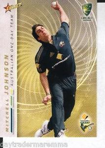 【送料無料】スポーツ メモリアル カード クリケットオーストラリアカードミッチェルジョンソン