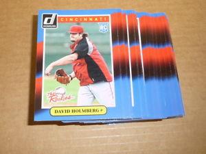 【送料無料】スポーツ メモリアル カード デビッドカードレッズ#2014 donruss the rookies david holmberg rcrookie lot of 60 cards reds 38