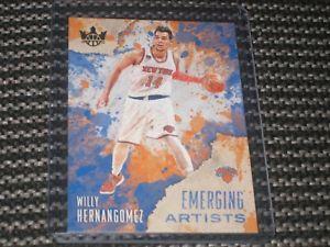 【送料無料】スポーツ メモリアル カード 201718 291718paniniコートウィリーhernangomez201718 1718 panini court kings willy hernangomez emerging artists 29