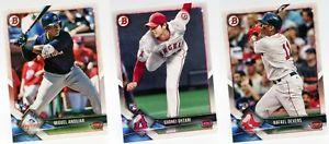 【送料無料】スポーツ メモリアル カード スポーツカード2018セットシングルスmlbリーグベースボール2018 bowman base set singles mlb major league baseball trading sports cards