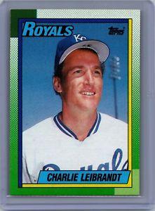 【送料無料】スポーツ メモリアル カード 1990トップス776チャーリーleibrandtカンザスシティーロイヤルズ1990 topps 776 charlie leibrandt kansas city royals