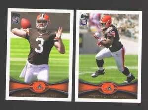 【送料無料】スポーツ メモリアル カード 2012トップスフットボールチームセット cleveland browns2012 topps football team set cleveland browns