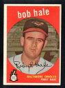 【送料無料】スポーツ メモリアル カード bob haleコウライウグイス1959 topps507 excellent nocreasesbob hale orioles 1959 topps 507 excellent no creases