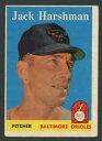【送料無料】スポーツ メモリアル カード 1958トップス217ジャックharshman exexコウライウグイス21761