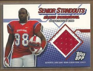 【送料無料】スポーツ メモリアル カード ドラフトシニアエルビスジャージー2006 topps draft senior standout jsy ssed elvis dumervil jersey