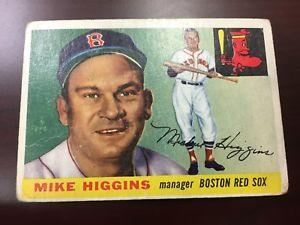 【送料無料】スポーツ メモリアル カード マイクヒギンズボストンレッドソックス#カード1955 topps mike higgins boston red sox 150 baseball card