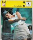 【送料無料】スポーツ メモリアル カード ナンシーロペスゴルフカードnancy lopez 1978 golf sportscaster 625 large card 4311 first year phenomenon