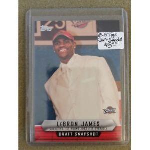【送料無料】スポーツ メモリアル カード ドラフトスナップショットレブロンジェームズクリーブランド200910 topps draft snapshot dslj lebron james cavs cavaliers nba
