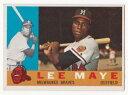 【送料無料】スポーツ メモリアル カード イ#ミルウォーキーブレーブスプラスlee maye 1960 topps baseball rc 246 milwaukee braves rookie ex plus nm
