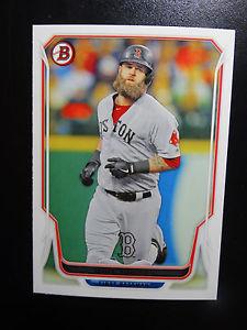 【送料無料】スポーツ メモリアル カード 2014124マイクナポリボストンレッドソックスベースボールカード2014 bowman 124 mike napoli boston red sox baseball card
