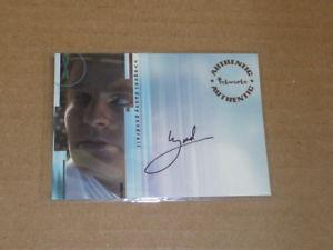 【送料無料】スポーツ メモリアル カード サイン2001 inkworks xfiles brendan beiser autographauto a5 o2081