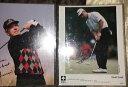 【送料無料】スポーツ メモリアル カード デビッドデュバルサインハレアーウィンサインゴルフdavid duval autograph, hale irwin autograph photos golf