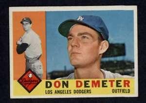 【送料無料】スポーツ メモリアル カード 1960トップス234ドンデーメーテールnmnmドジャーズa39181960 topps 234 don demeter nmnm dodgers a3918