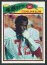 【送料無料】スポーツ メモリアル カード 1977topps247 cleveland elamサンフランシスコフォーティーナイナーズrookie card nm1977 topps 247 cleveland elam san francisco 49ers rookie card